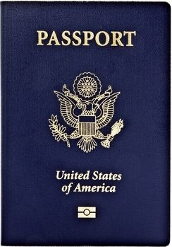 American Passport with RFID Chip