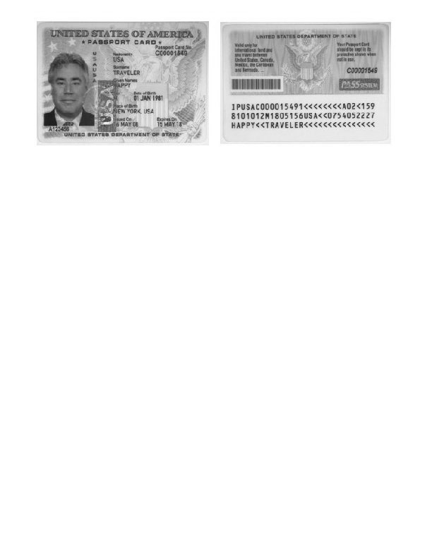 Photocopy of Identification Document for Expediting Passport Application